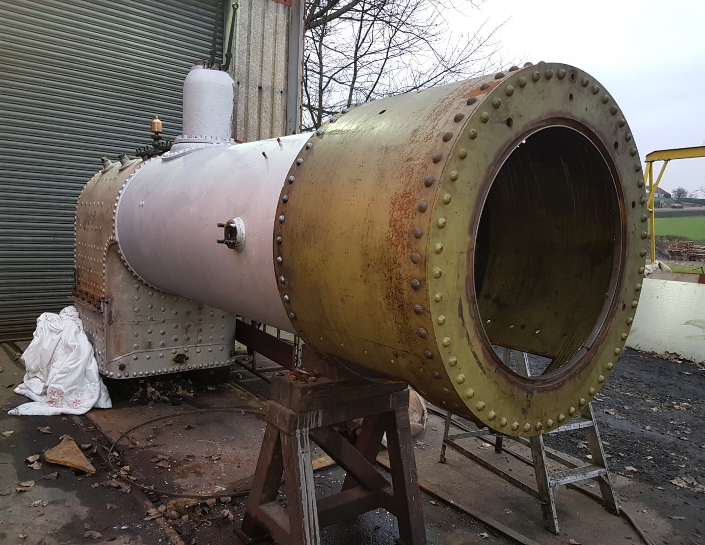 Boiler with new smokebox Jan 2020 Matt