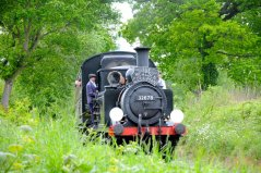 Wealden Pullman with 32678 - 24-05-2015